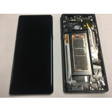Samsung Galaxy Note 8 LCD - Black (OEM Pulled with Frame)
