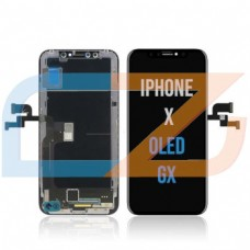 iPhone X LCD - Black (Aftermarket) GX OLED