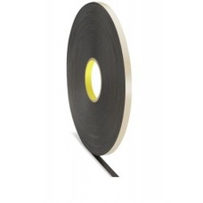 Double Sided Strong Black Tape - 8MM x 25M